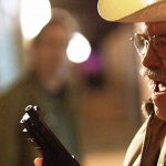 Chief Burns (Barry Corbin) races to save a town he has sworn to protect in Beyond The Farthest Star.