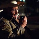 Chief Burns (Barry Corbin) looks for answers before his sleepy Texas town implodes.