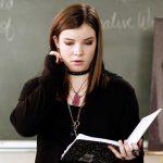 Troubled, Anne (Cherami Leigh) expresses herself in a disturbing and unusual class poem.