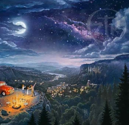 Beyond The Farthest Star | Product | Painting by Thomas Kinkade